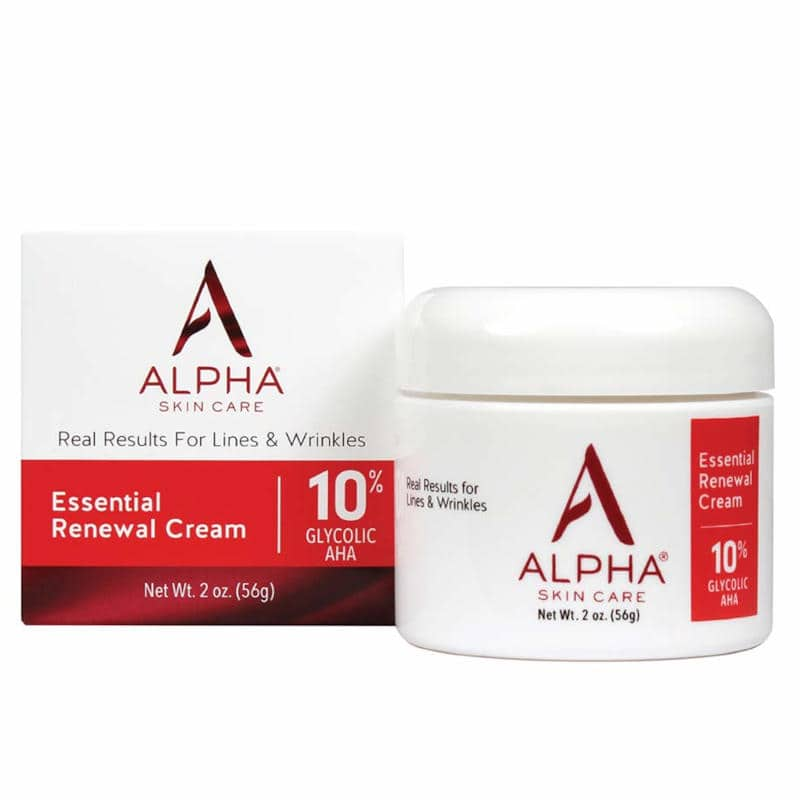 Alpha Skin Care Essential Renewal Cream 10%