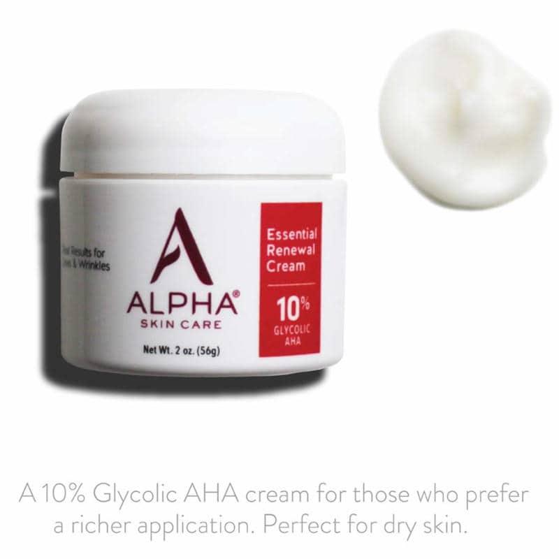 Alpha Skin Care Essential Renewal Cream Ad