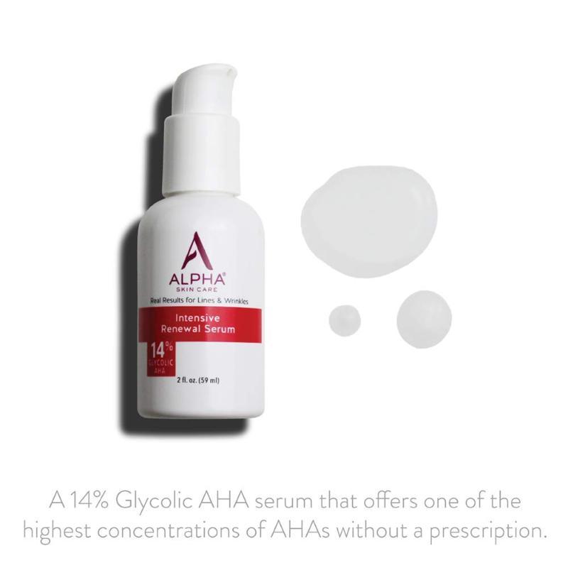 Alpha Skin Care Intensive Renewal Serum Ad