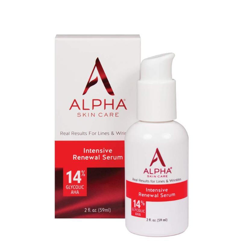Alpha Skin Care Intensive Renewal Serum
