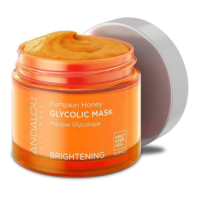 Andalou Naturals Pumpkin Honey Glycolic Mask Ad