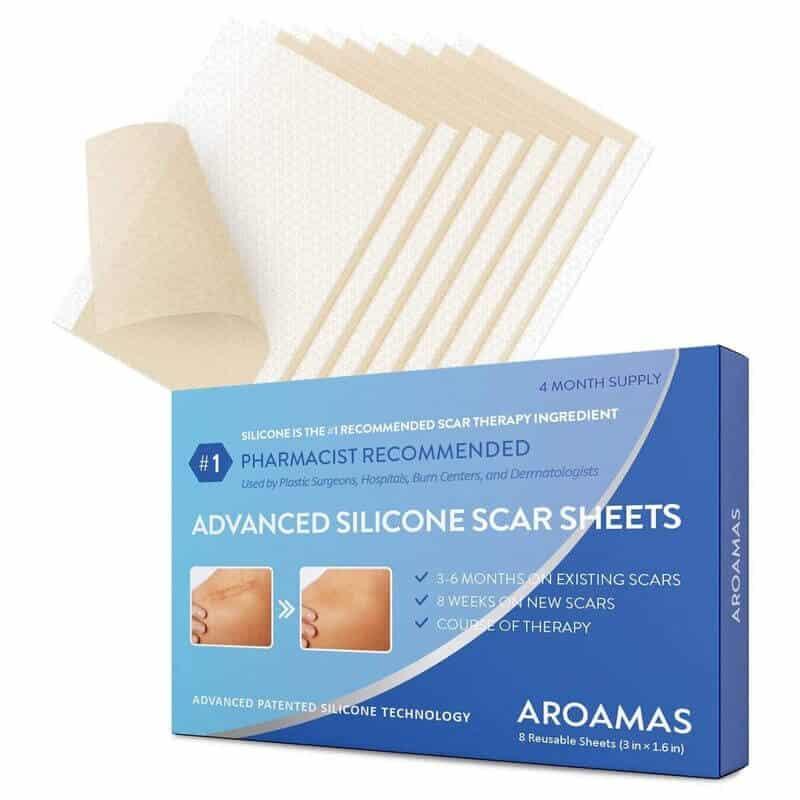 Aroamas Advanced Silicone Scar Sheets