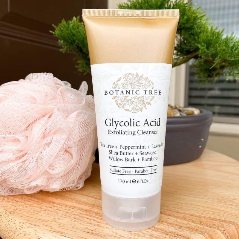 Botanic Tree Glycolic Acid Exfoliating Cleanser Ad