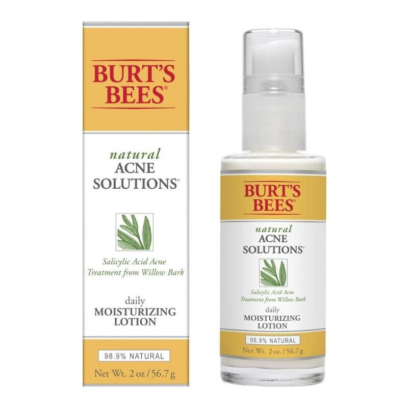 Burts Bees Natural Acne Solutions Daily Moisturizing Lotion