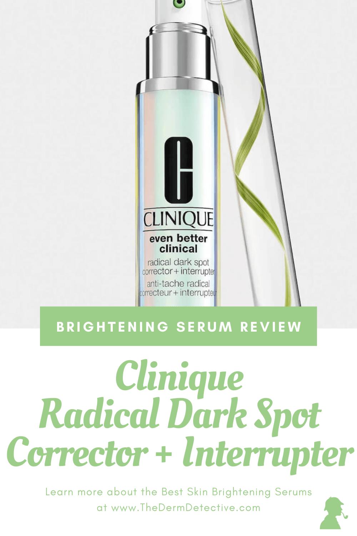 Clinique Dark Spot Corrector Review Pinterest