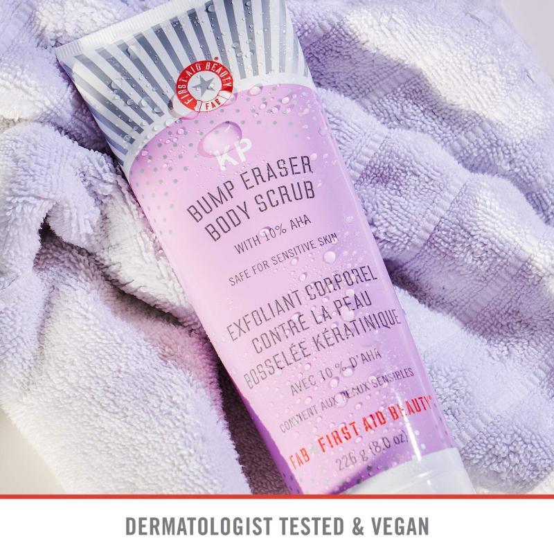 First Aid Beauty Bump Eraser Body Scrub Ad