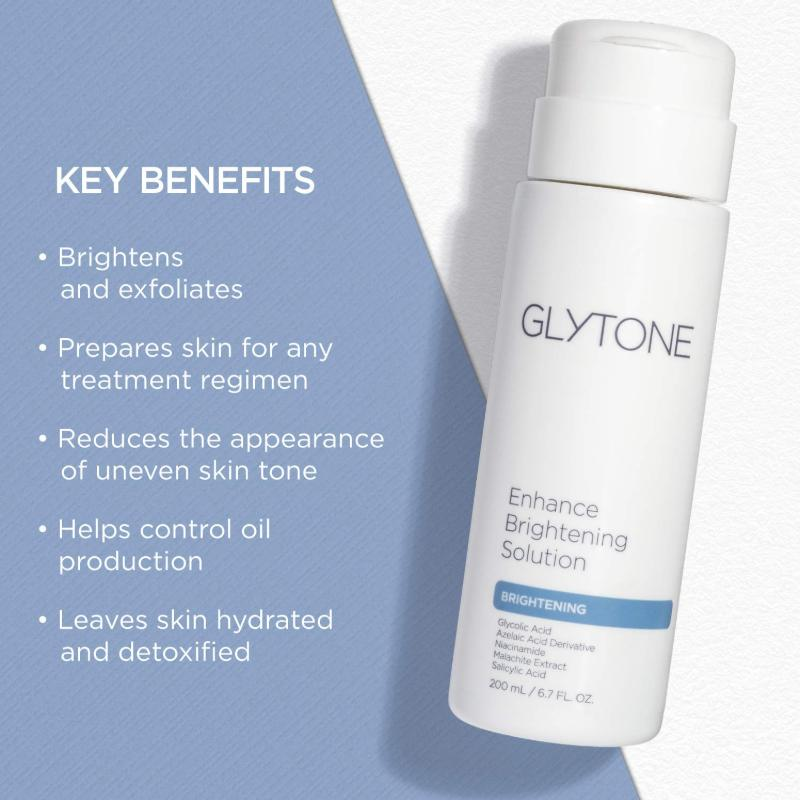 Glytone Enhance Brightening Solution Ad