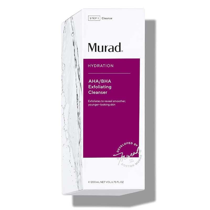 Murad AHA BHA Exfoliating Cleanser Ad