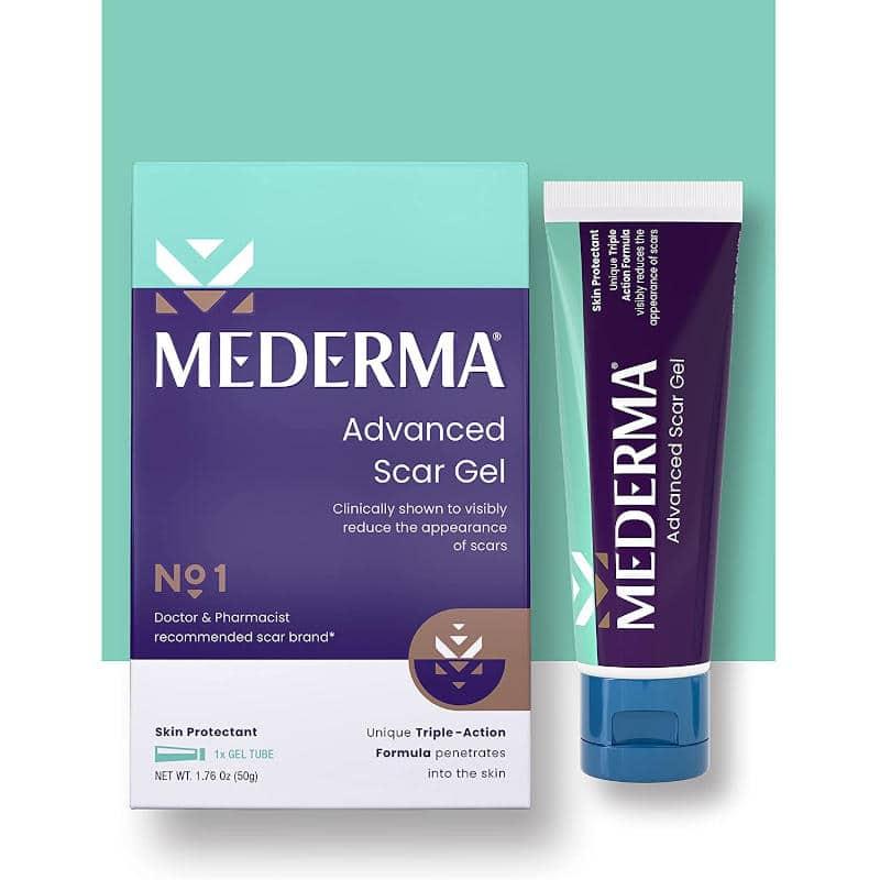 New Mederma Advanced Scar Gel 50g
