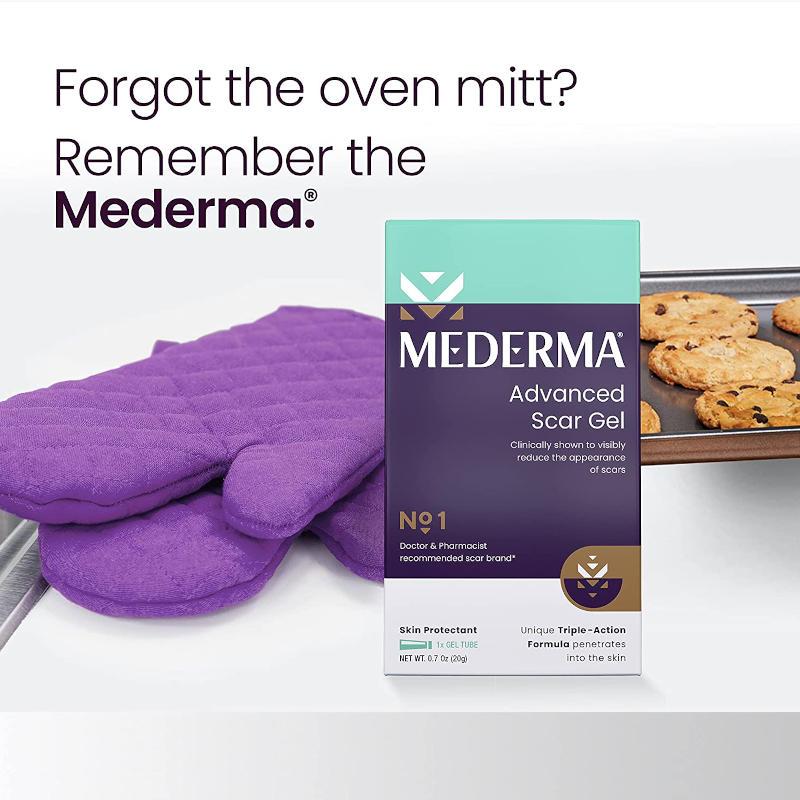 New Mederma Advanced Scar Gel Ad