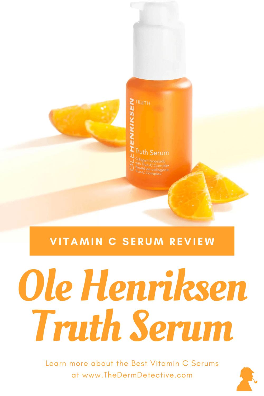 Ole Henriksen Truth Serum Review Pinterest
