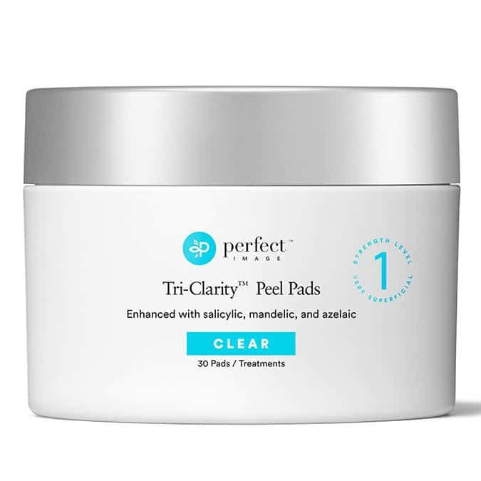 Perfect Image Tri-Clarity Peel Pads 25%