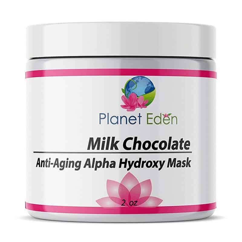 Planet Eden Milk Chocolate Anti-Aging Alpha Hydroxy Mask