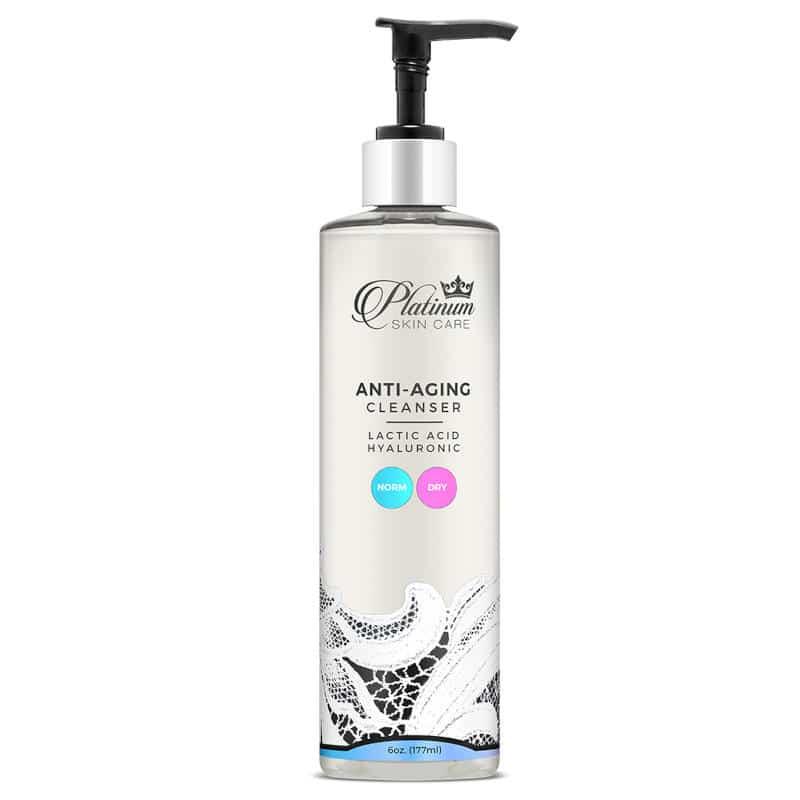 Platinum Skin Care Lactic Anti-Aging Cleanser