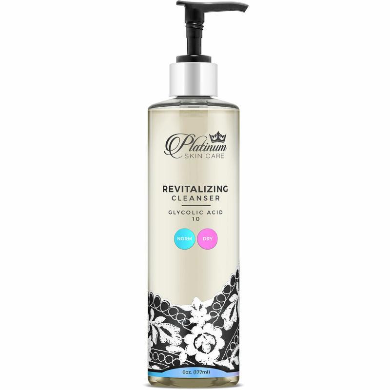 Platinum Skin Care Revitalizing Glycolic Cleanser 10