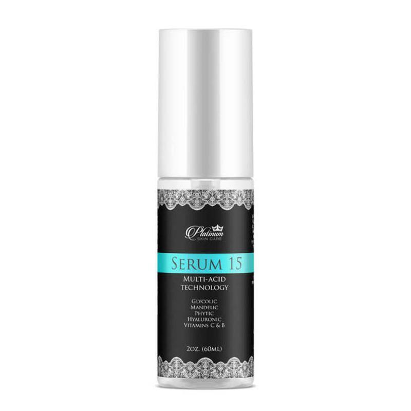 Platinum Skin Care Serum 15