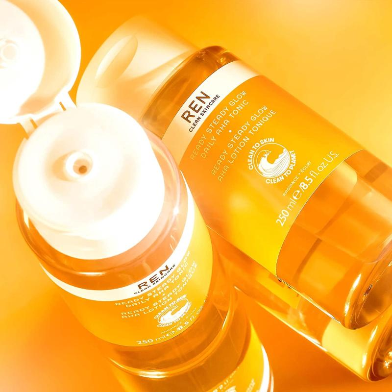 REN Clean Skincare Ready Steady Glow Daily AHA Tonic Ad